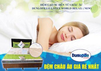 Dunlopillo ra mắt dòng đệm cao su chính hãng mới