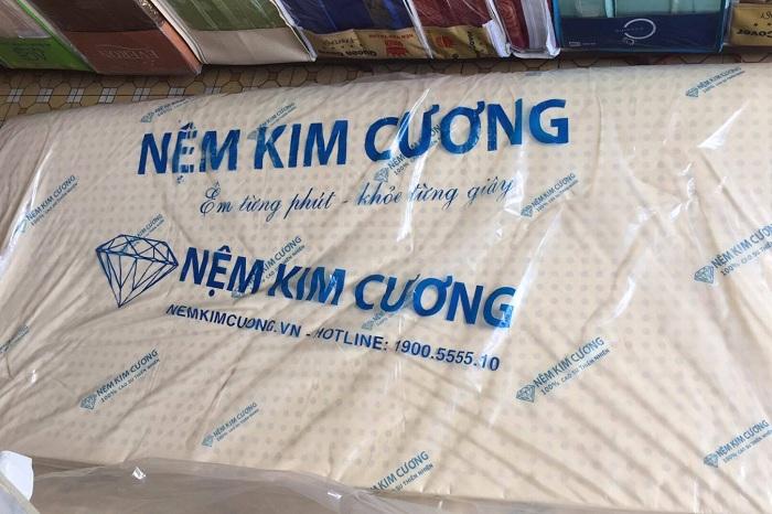 Một số loại đệm cao su Kim Cương chính hãng và chất lượng